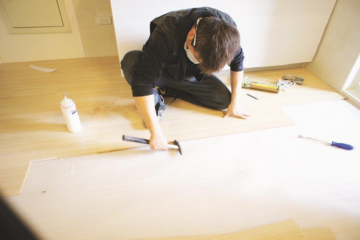 不同的木地板其施工方法及價格皆不同,選擇上必須衡量自己的需求,和環境的限制。圖片提供_朵卡設計