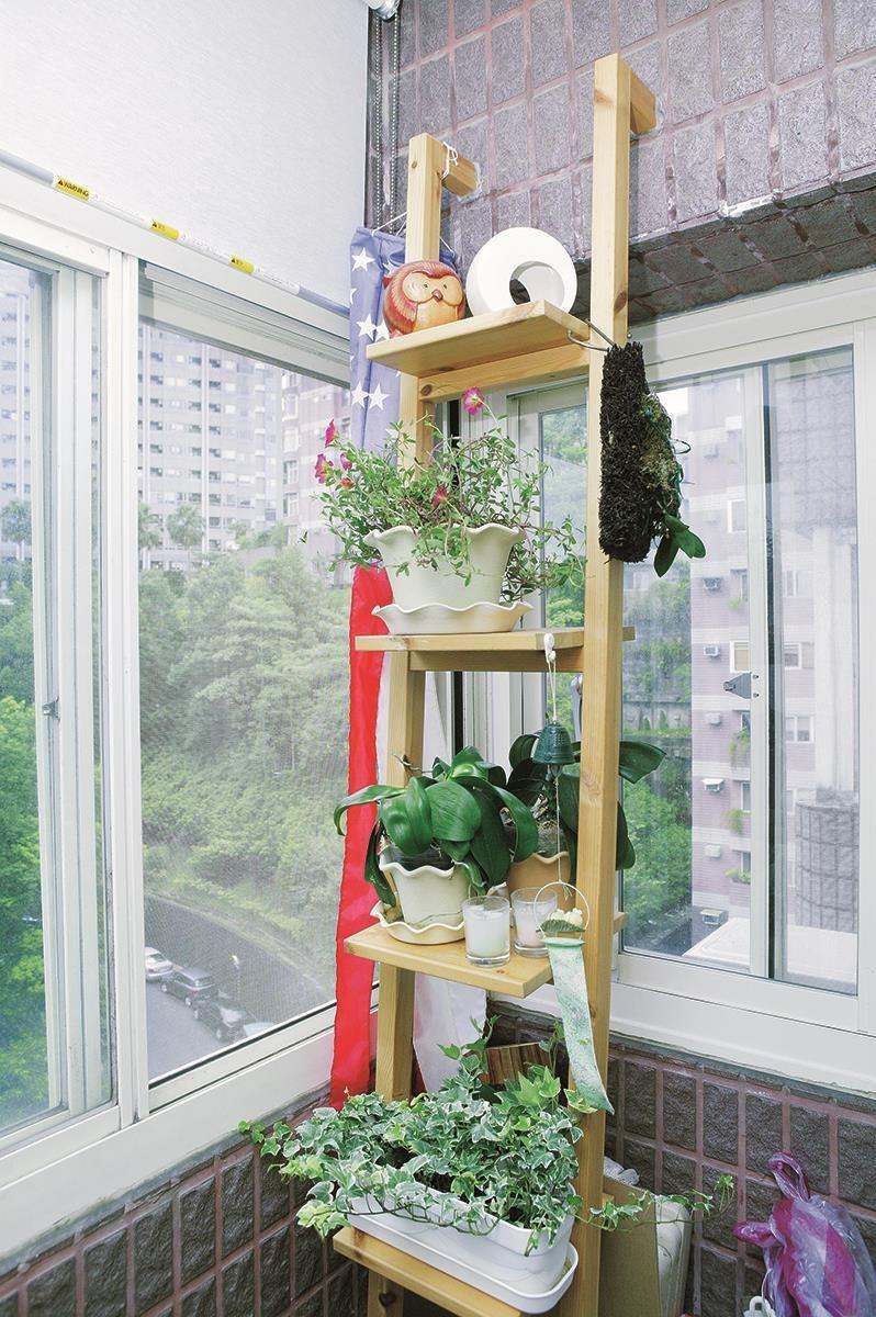 屋內放置植栽減少落塵,也有助維持空氣乾濕度的穩定。圖片提供_朵卡設計