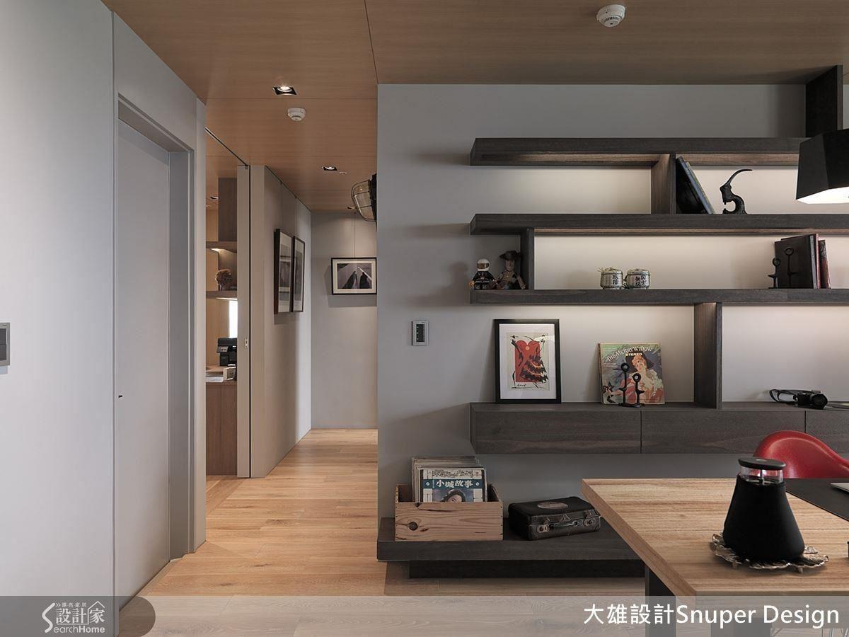 空間中搭配藝術畫作、軟件及裝飾品,成為表達屋主魅力的空間。