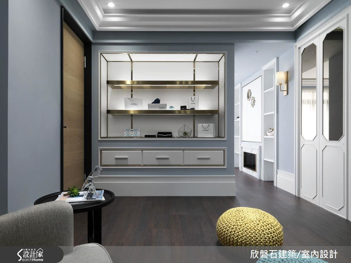 2 樓的起居室也可拿來當按摩室,是滿足女主人紓壓放鬆的小天地。