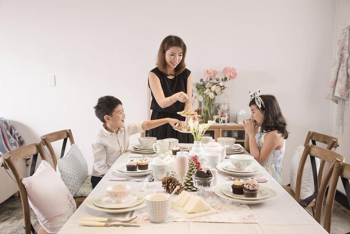 王毓婷設計師親自傳授佈置餐桌的秘訣。