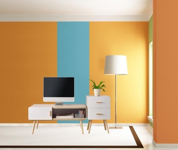 歲未年終,除舊佈新之際,別忘了替家中的牆壁換色,既省錢又能煥然一新,甚至舊家具也可一併換裝。 (此為3D示意圖)