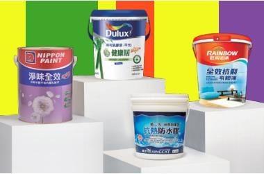 目前市面上有各種不同功能的油漆,可視牆壁與居家需要,選擇油漆。(此為3D示意圖)