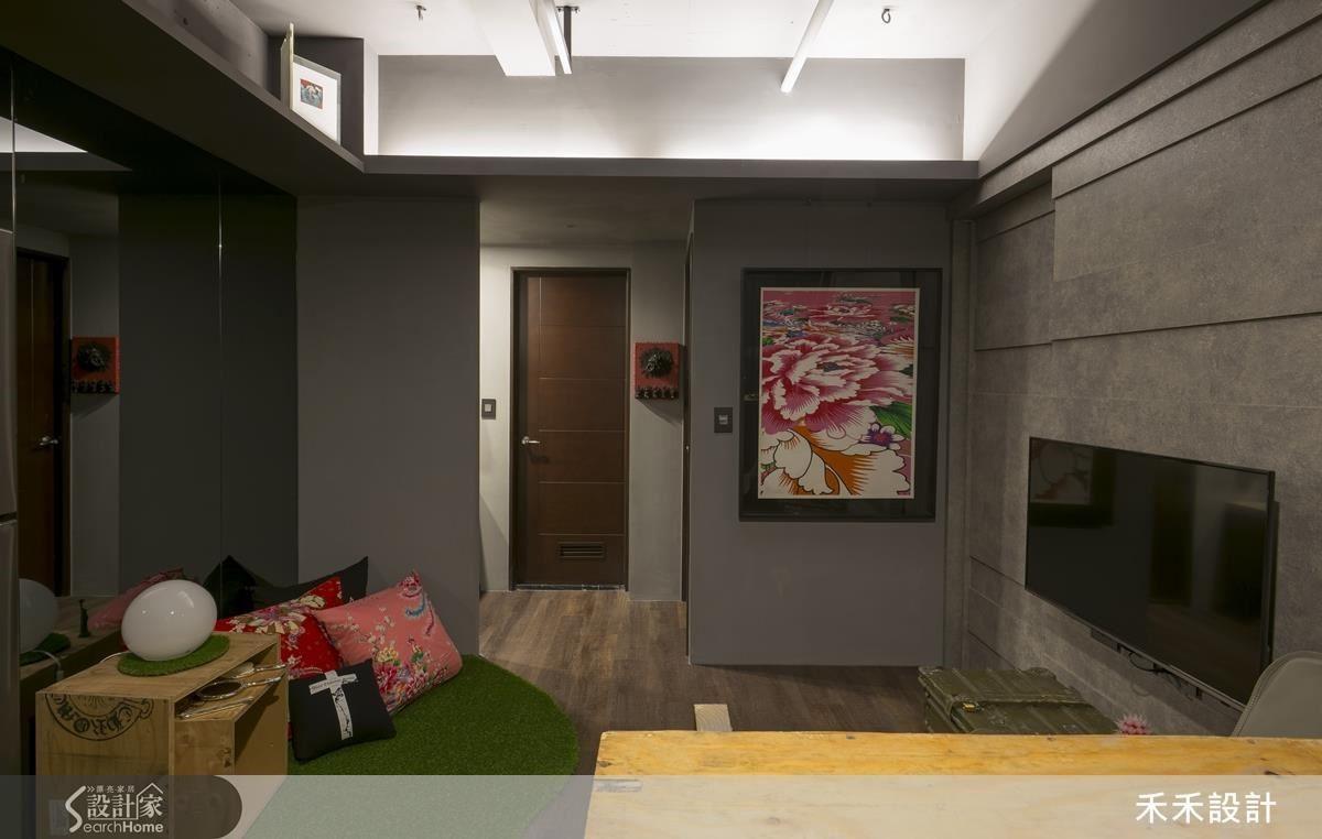 即使不動格局、大量保留原有裝潢,千篇一律的房宅也能徹底變身,化為充滿自我風格的個性小豪宅!