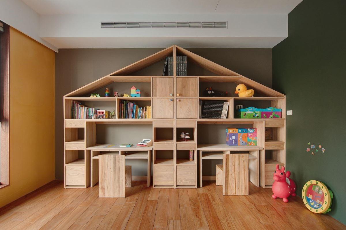 兒童專屬閱讀遊戲空間,打造無毒且安心的成長樂園。