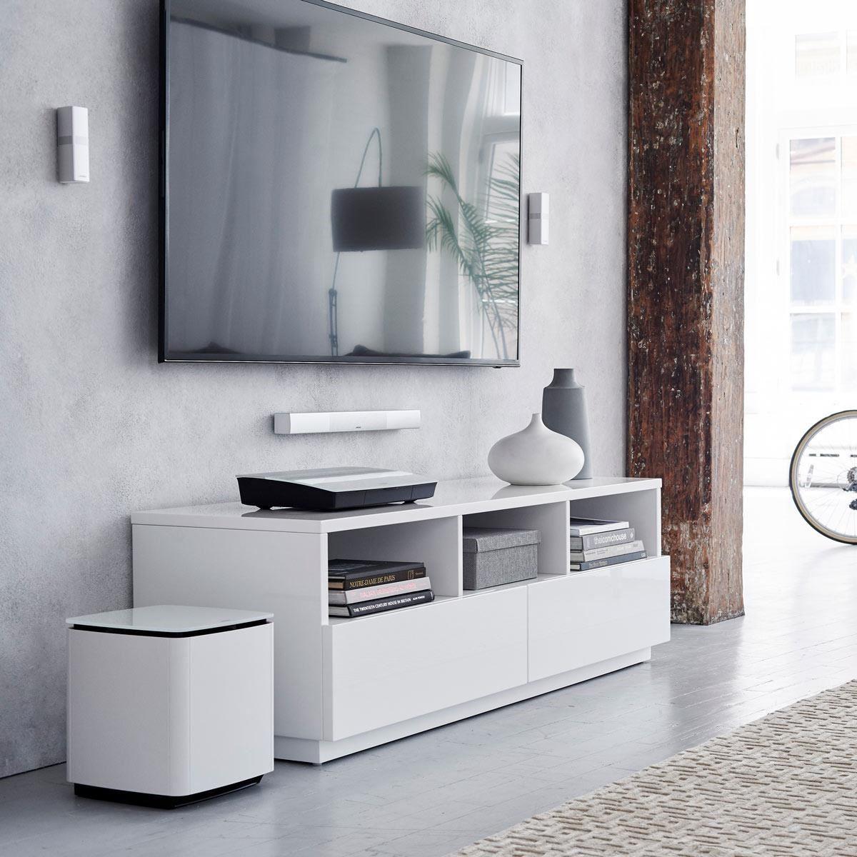 全新 Lifestyle 家庭娛樂系統擁有驚豔設計的同時,讓你盡享出色環繞音效。