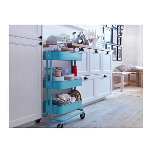 榮獲第一名的 IKEA 推車最受歡迎的是土耳其藍,不僅美觀還超實用!
