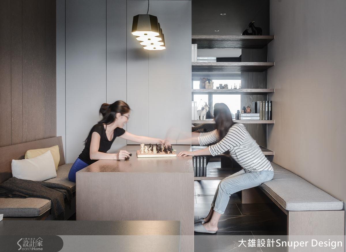除了預留房間,複合式機能、開放設計也是不可或缺的新手 knowhow !