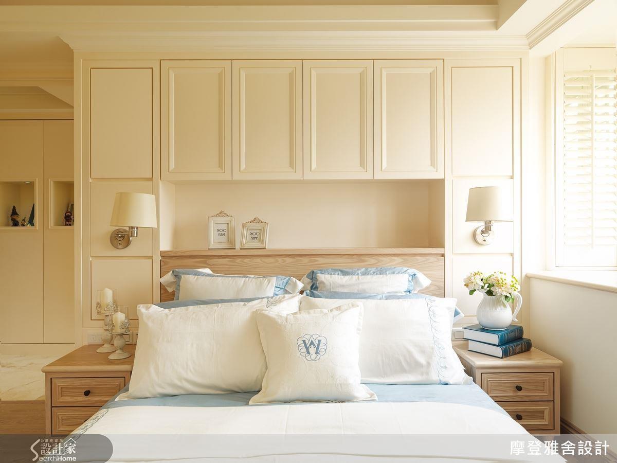 如果分為上下櫃,建議下櫃寬度與高度分別控制在 150~180 公分及80~100 公分內最適合收納棉被。