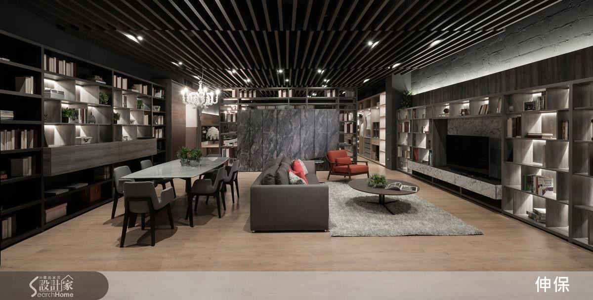 寬敞的展示空間,模擬居家各空間實景,讓參觀的民眾能夠身歷其境,手觸材質,實際感受氛圍。