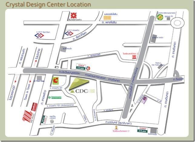 CDC 複合式家具中心地圖。