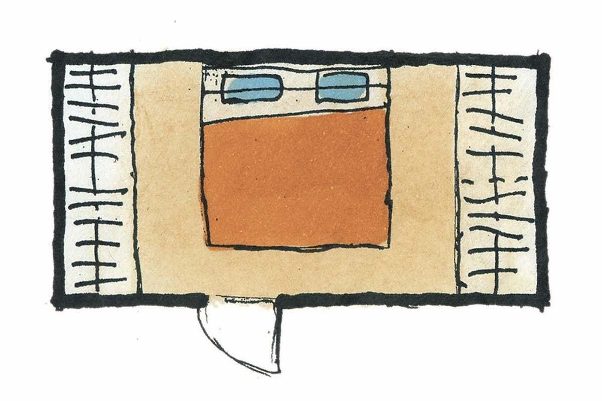 有衣櫥的寢室-平面圖 圖片提供_漂亮家居麥浩斯