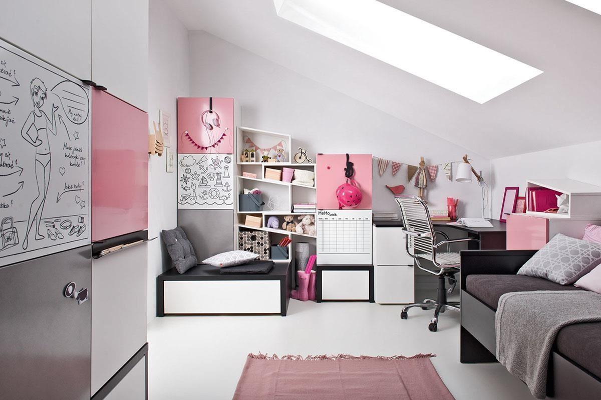 小女孩最愛的夢幻粉紅系房間,Young User 系列也可以駕輕就熟。