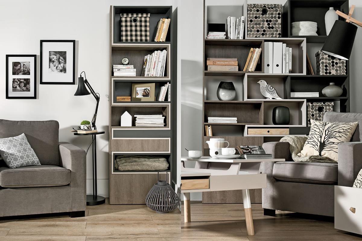 LORI 系列有一款三色交疊的延展書櫃非常特別,櫃體選用三個大地色,好融入各種空間風格主題,櫃體還可拉升延展成不同造型,設計感十足。