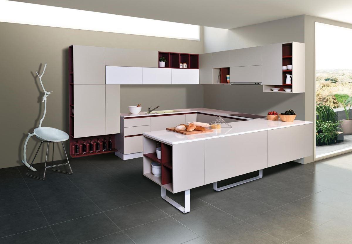 採用無毒板材,把不易留指紋、油漬的特殊霧面材質優勢發揮到極致的廚具門板,既符合環保訴求,也讓清潔維護更輕鬆。品牌:雅登廚飾