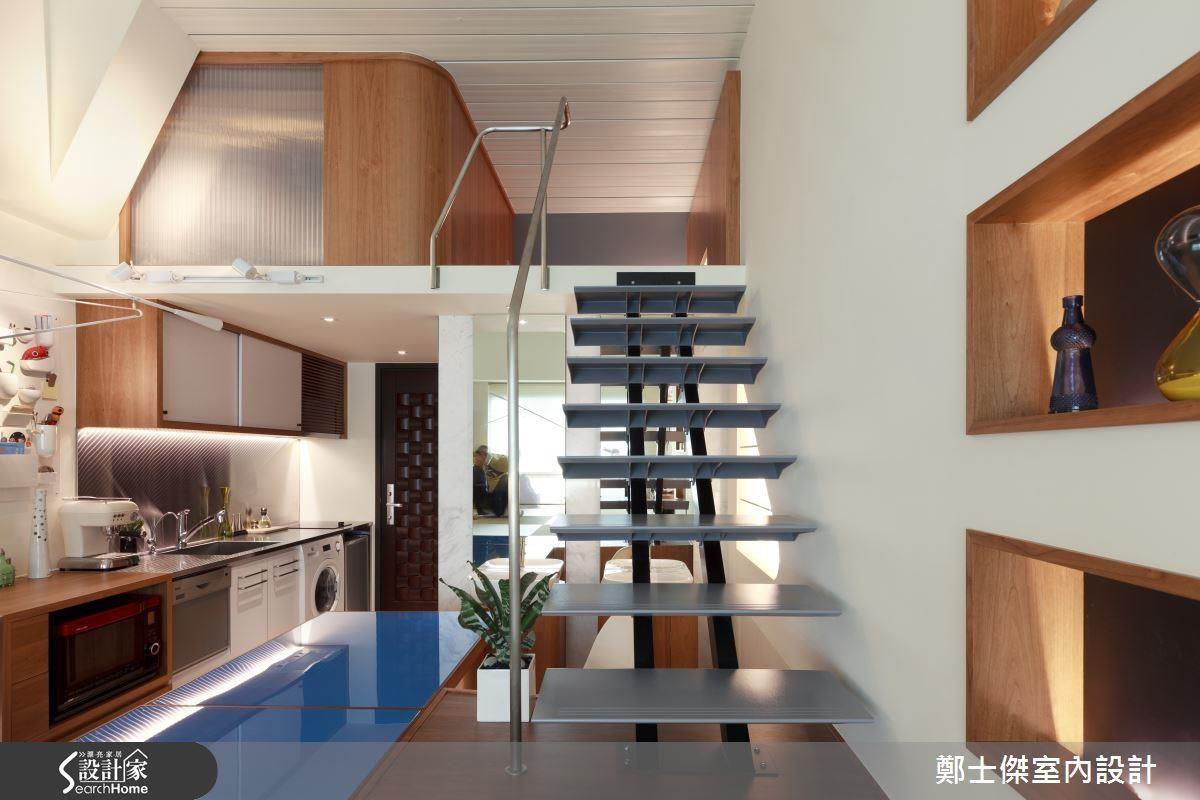 小坪數廚房首重動線規劃、收納及複合式機能,才能創造井然有序的烹飪環境。