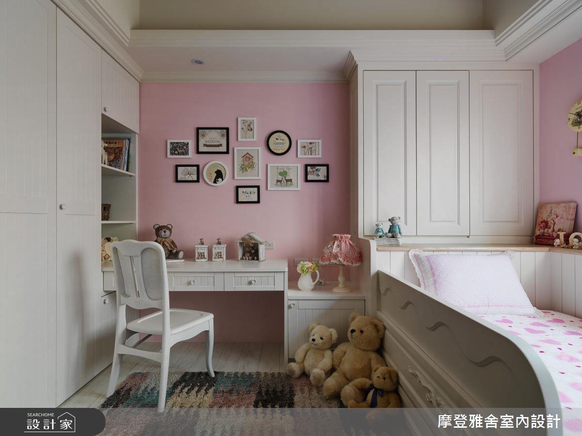 甜美可人的粉色系色彩,襯托出寶貝小公主的稚嫩可愛氣息。