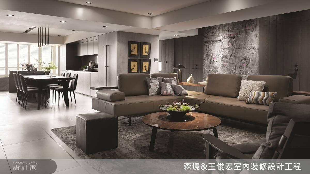 藝術、設計、空間,三者彼此相融,為家描繪出精彩面貌。