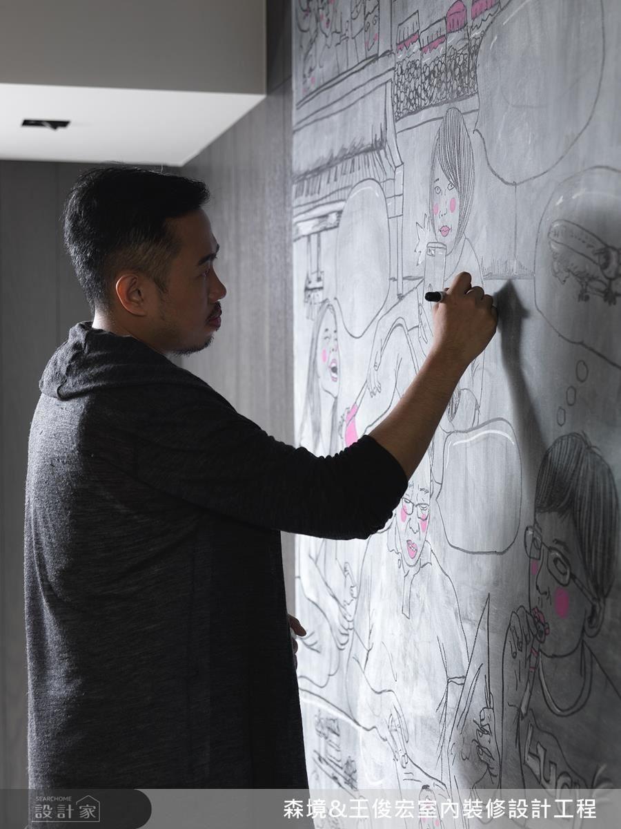 藝術家 Joseph Chen 利用醜讓大家認識美,走出自我藝術風格,他總以戲謔、調侃的畫風,傳達出對生活的看法。