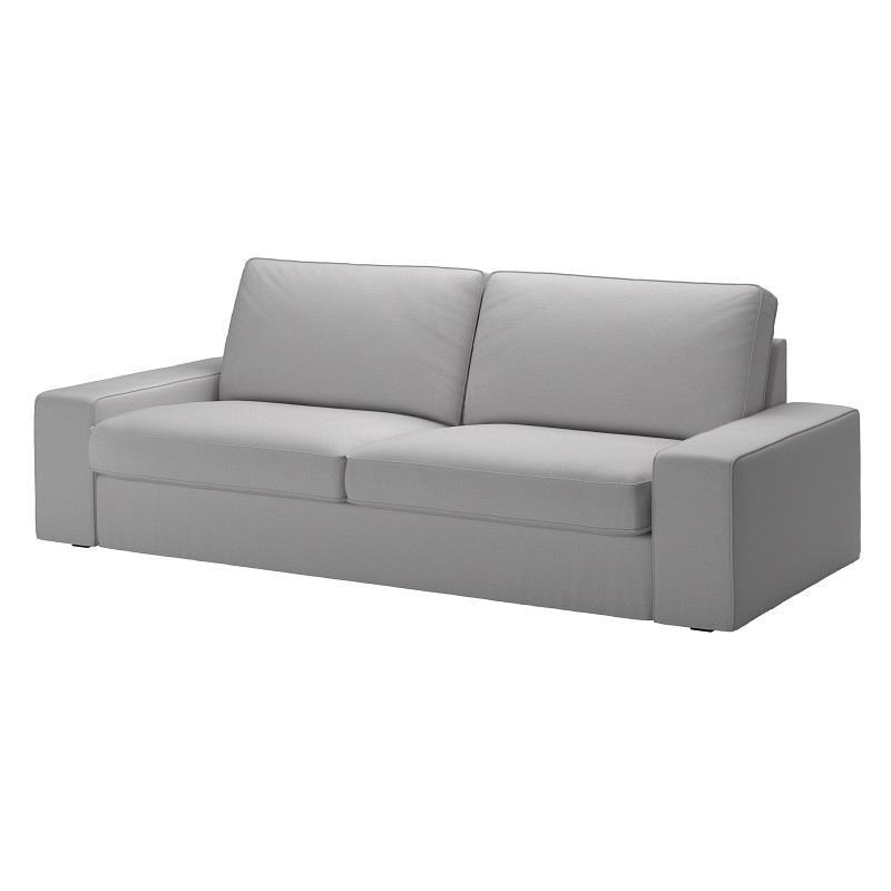 今年價格降幅超過8%的商品共有450多項,IKEA特別推薦KIVIK淺灰色三人座沙發(原價$19,900;再創低價$14,900;降幅25%)空間大、扶手低,記憶泡棉材質可貼合身體曲線,讓你舒服臥躺、休息、聊天。圖片提供_IKEA
