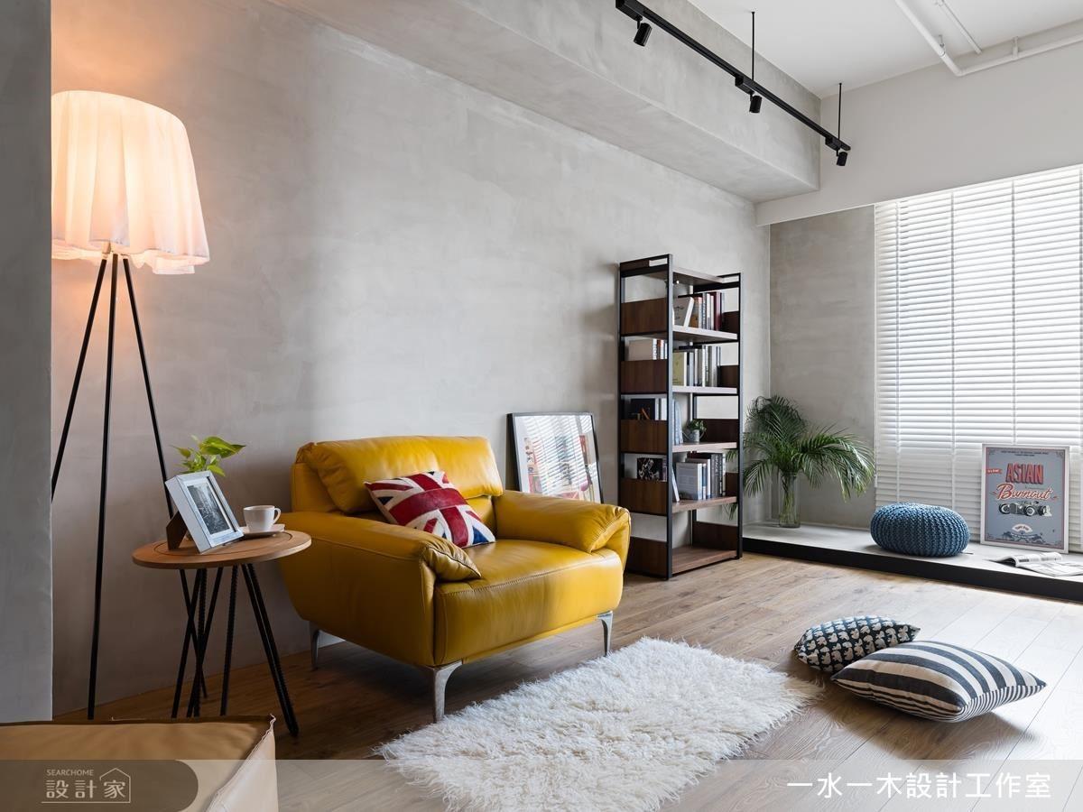 融入極簡設計手法,為小資夫妻留有自由揮灑的生活空間。