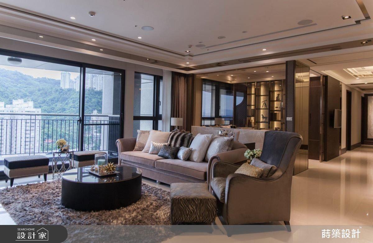 大器私人會館般的設計,為居家引入質感生活。