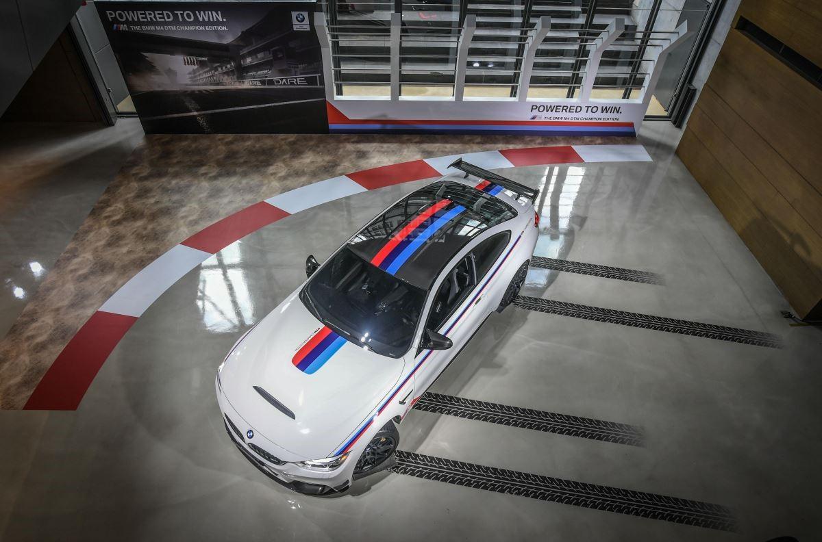 BMW M4 DTM Champion Edition。(圖片提供_BMW 總代理汎德公司)