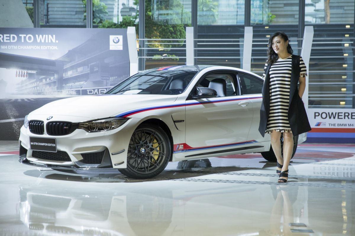 昇煬空間設計總監林貝珍贊助國內高階賽事車隊,同時很欣賞 BMW M4 DTM Champion Edition 車款。(攝影_徐逸恩)