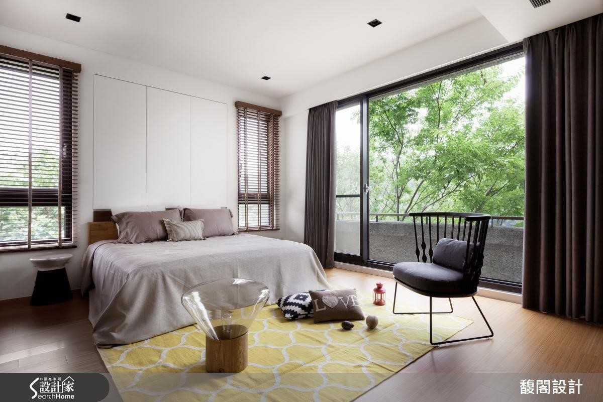 臥室最搶眼的地方 10 款床頭背牆的設計 〉〉