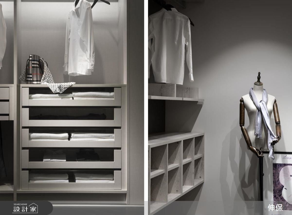 機能性的衣櫃收納,種種需求細節,伸保的專業性,絕對能滿足。