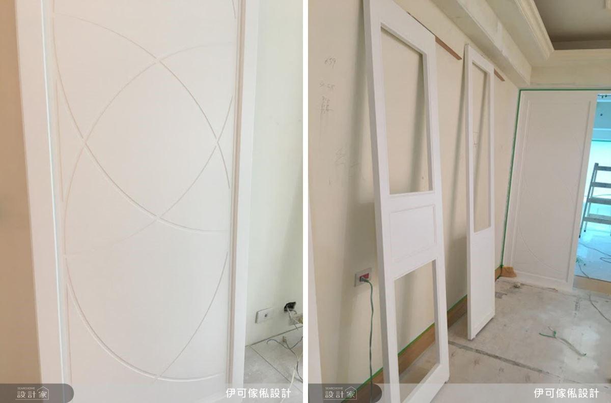 利用簡約優雅的飾板與線板,即可為居家空間帶來清新美式感。