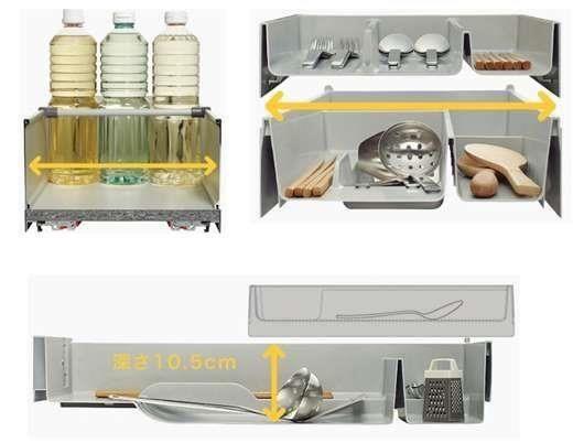 精密程度甚至可以透過測量湯勺長寬高訂製專屬收納,釋放多餘空間。(圖片提供_TOCLAS 昰品名廚)
