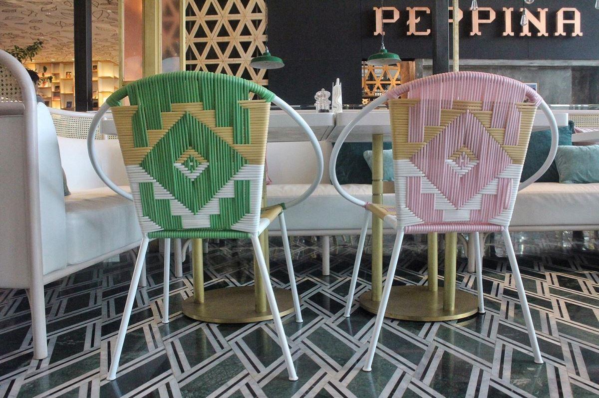 連座椅都經過特別配色,超級可愛!