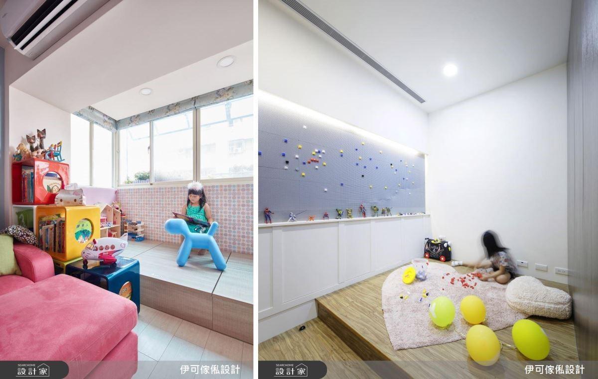 獨立的房間、遊戲室能訓練孩子透過收納提升責任感;另一方面也能透過父母帶領佈置達到美學培養。