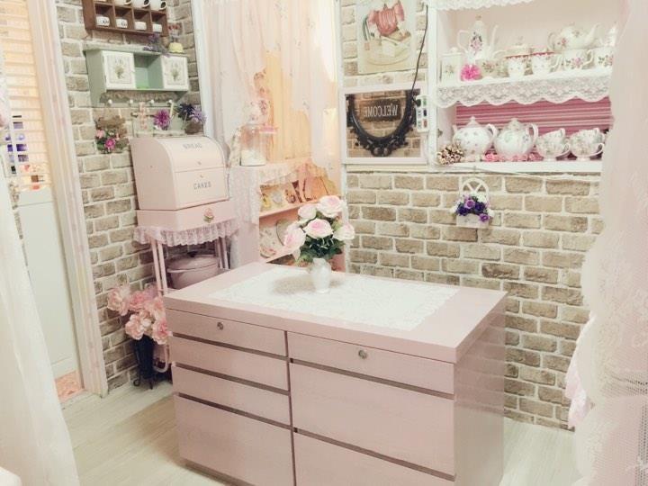 完成後大變身,粉得這麼美,彷彿櫻花般的色彩! 圖片提供_ Novia Suan