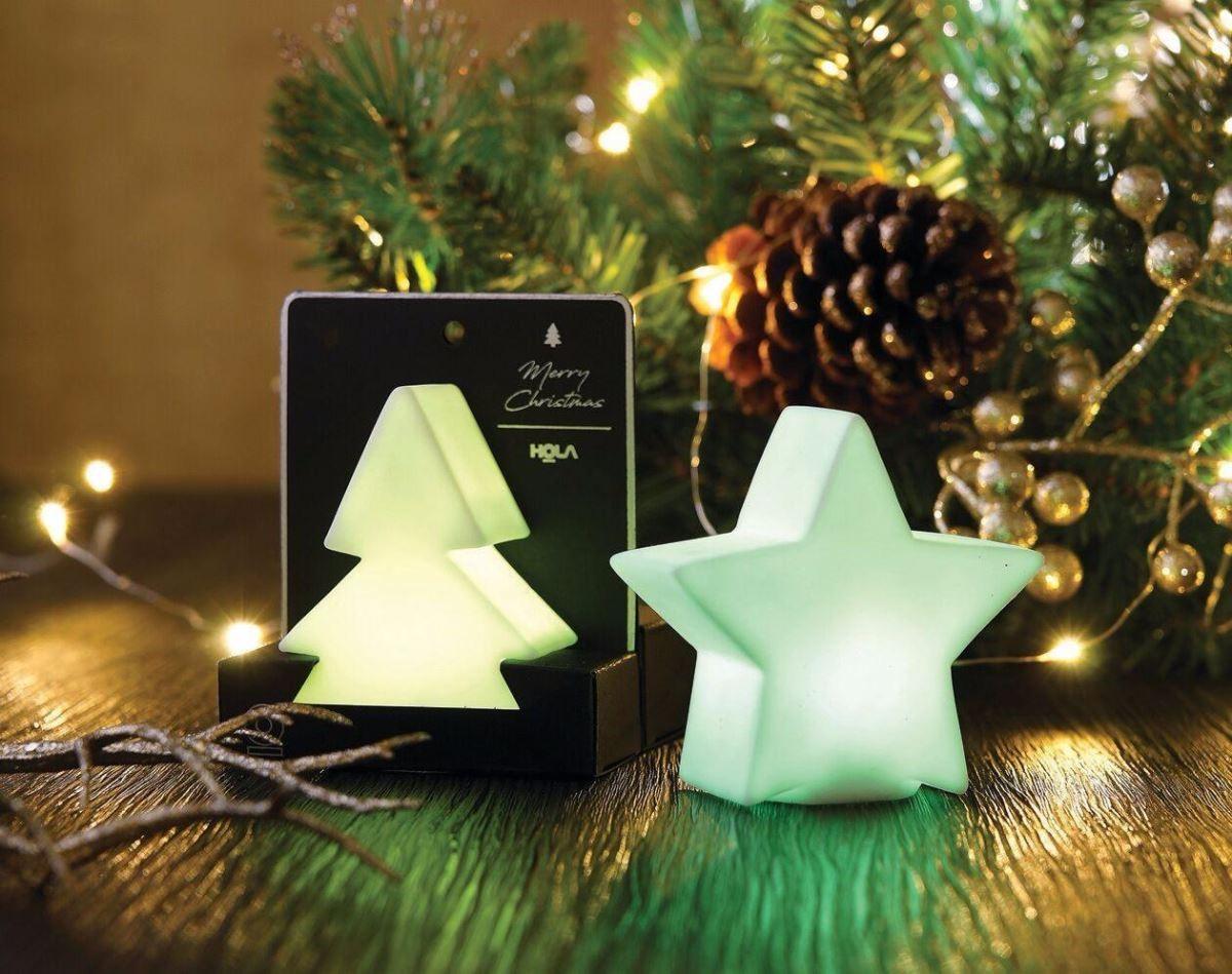 聖誕擺飾燈不需消耗燭油,隔年聖誕節仍能拿出來佈置居家環境。(圖片提供_Hola)