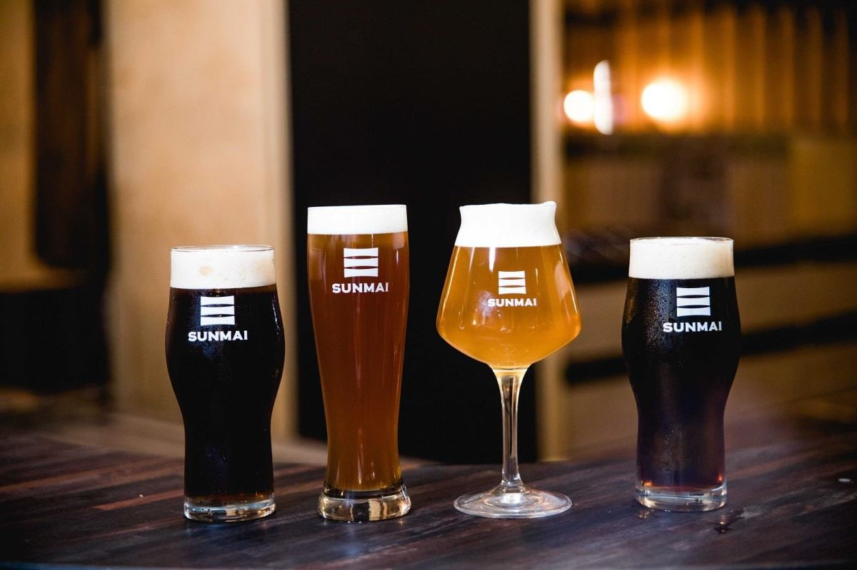 轉角遇到世界精釀冠軍 SUNMAI BAR安和店多款人氣精釀啤酒口味,下班小酌放鬆,感受微醺的快感。