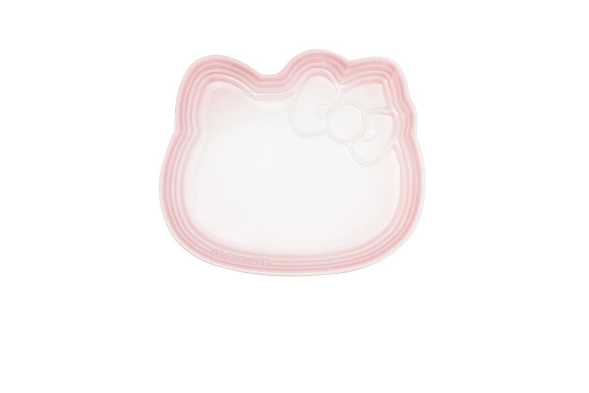 Hello Kitty造型餐盤 (淡粉紅) 特價1980