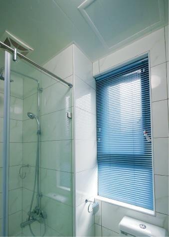 NORMAN鋁百葉簾系列,經常使用在浴室…等潮濕空間。