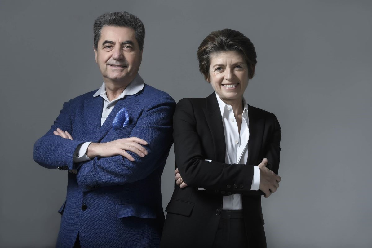 左為Antonio Citterio、右為Patricia Vie。