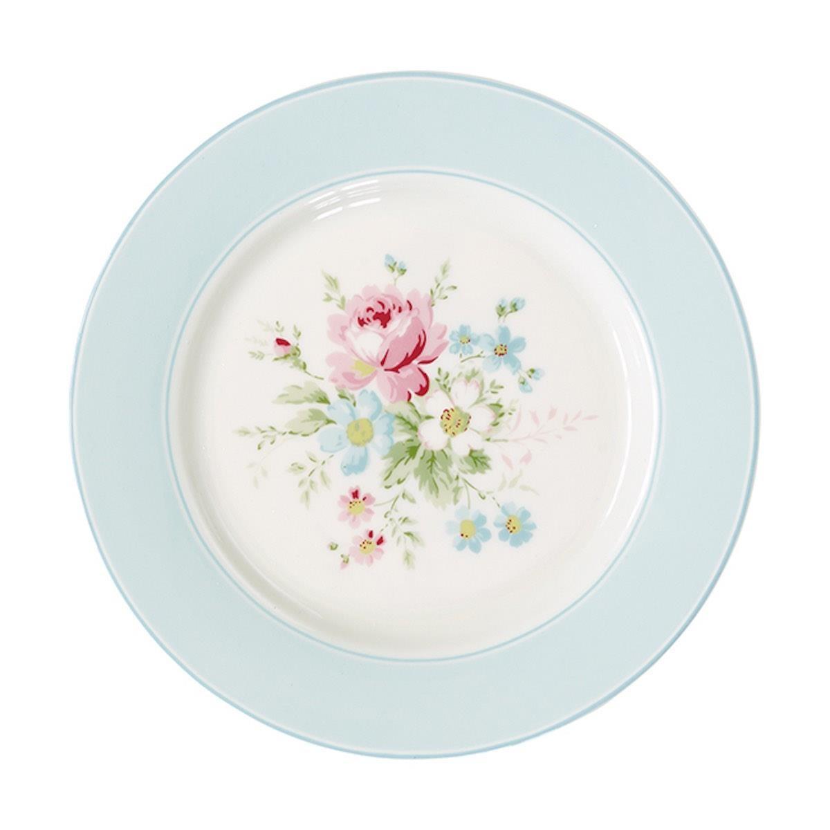 Marie Blue餐盤 原價820元,特價246元。圖片提供_GREENGATE TAIWAN