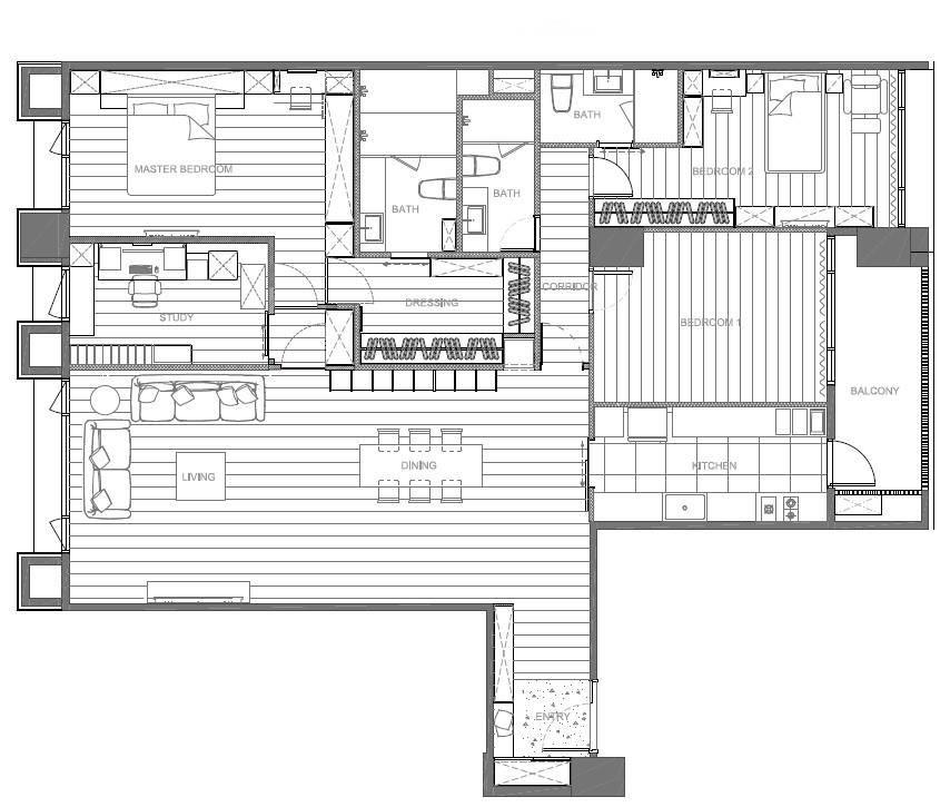 平面圖提供_晟角制作設計有限公司。