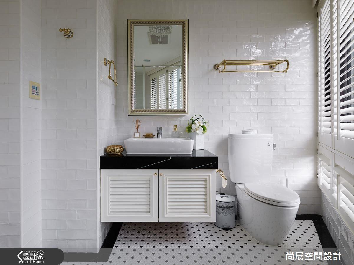 洗手台(面盆)→馬桶→浴缸(淋浴)為順序是比較便利的使用動線。