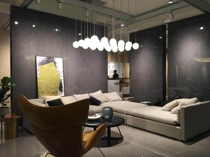 黑白根瓷磚 - 公司名稱:新明珠陶瓷(香港)有限公司,國家/地區:香港,展位:5E-A16,展區:建築及五金世界。
