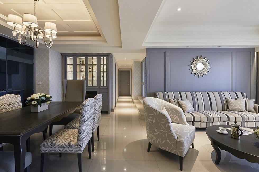 透過材質、色調運用,完美詮釋自在舒適的空間新氣象。