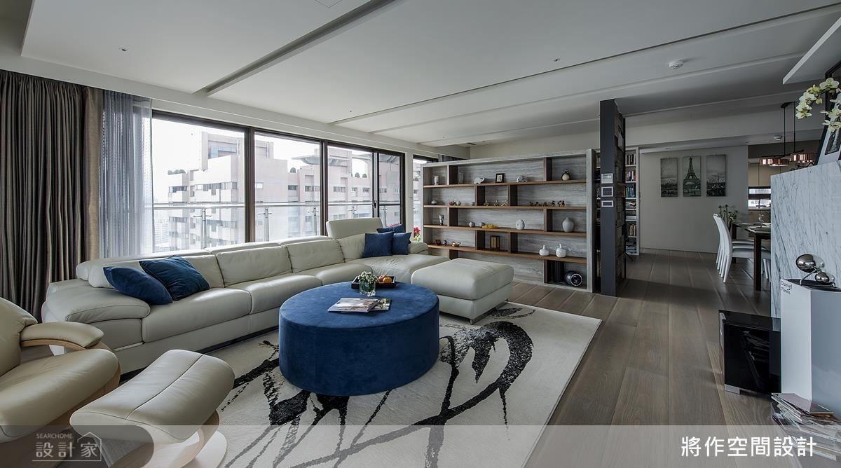 重組客廳配置,把握最佳窗景優勢。
