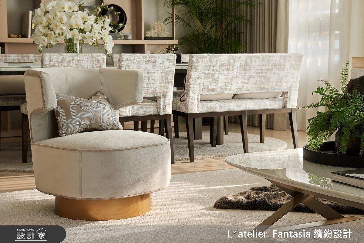 適度植栽妝點,為室內引入生意盎然的氣息。