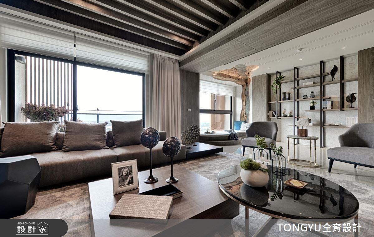 引入自然風情,打造現代休閒、度假飯店般的別墅氛圍。
