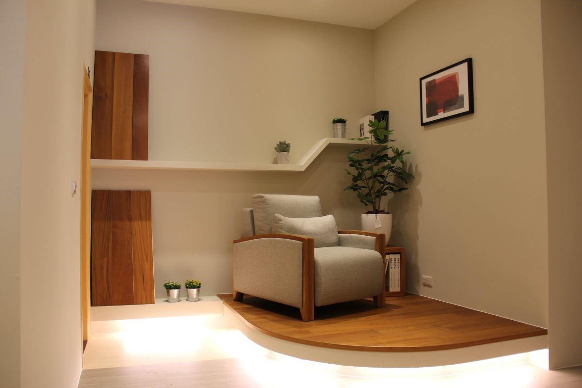 店內的二樓以「品味好窩」為主題,詮釋家的溫度與機能場域。