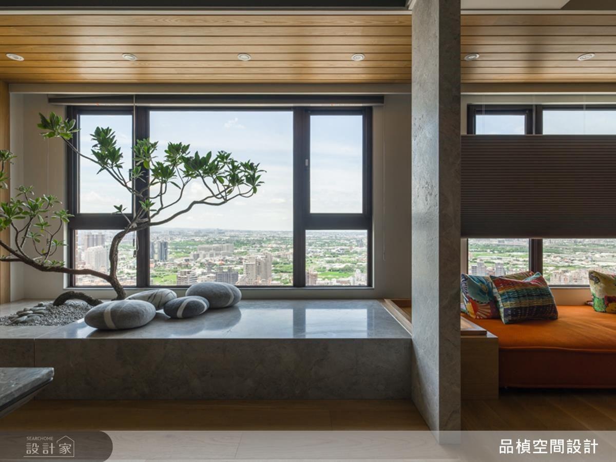 臥榻植栽規劃,為室內引入生生不息的生命氣息。